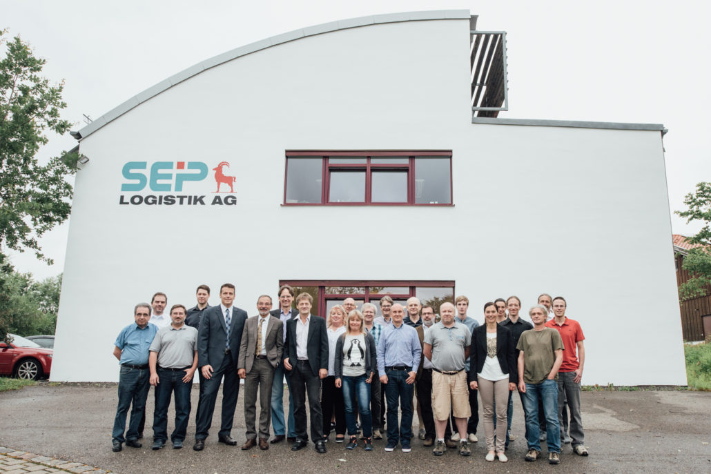 Team der SEP-Logistik-AG