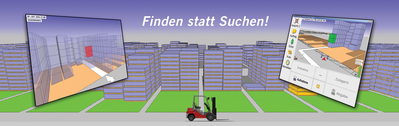 SLS mit 3D-Visualisierung